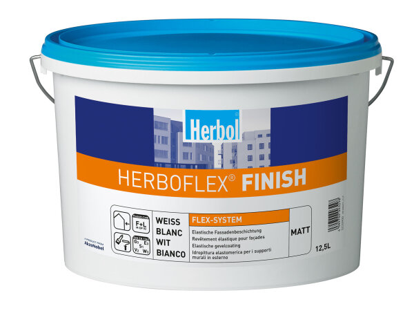 Herbol Herboflex Finish matt weiß 12,5 Liter